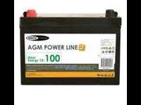 Batería AGM  100 Amp  Inovtech Powerline